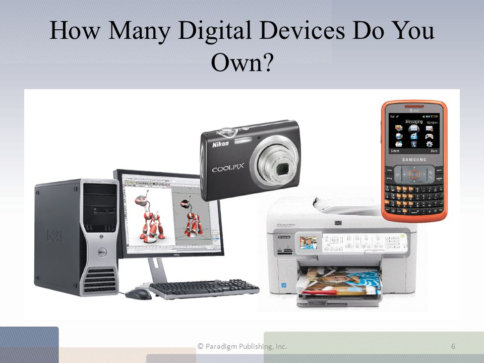 How Many Digital Devices Do You Own
