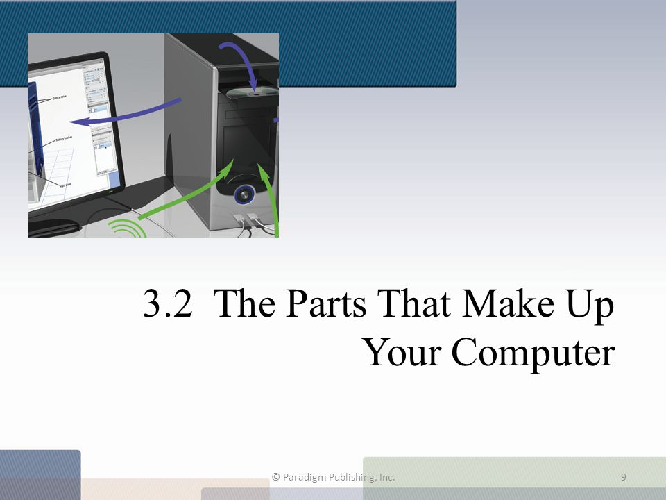 3.2 The Parts That Make Up Your Computer