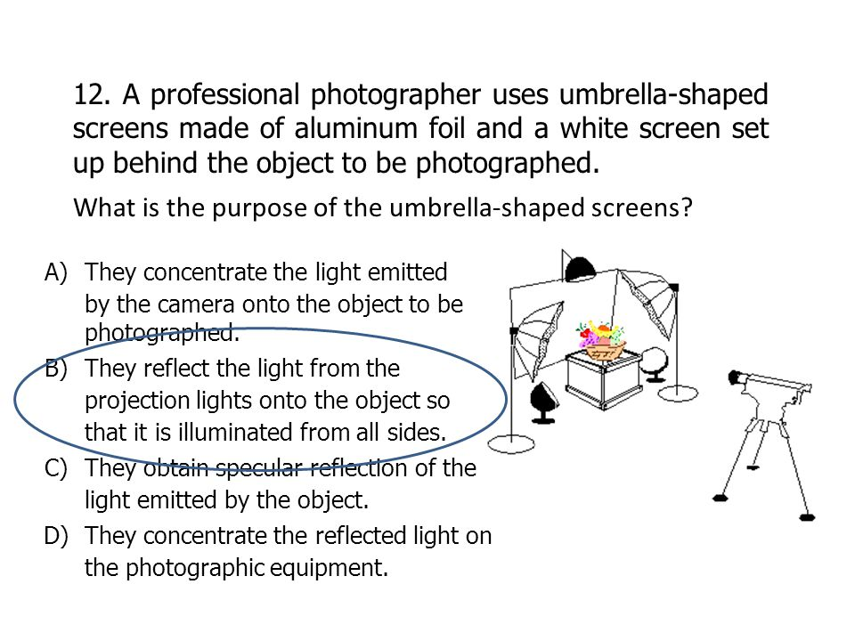 What is the purpose of the umbrella-shaped screens