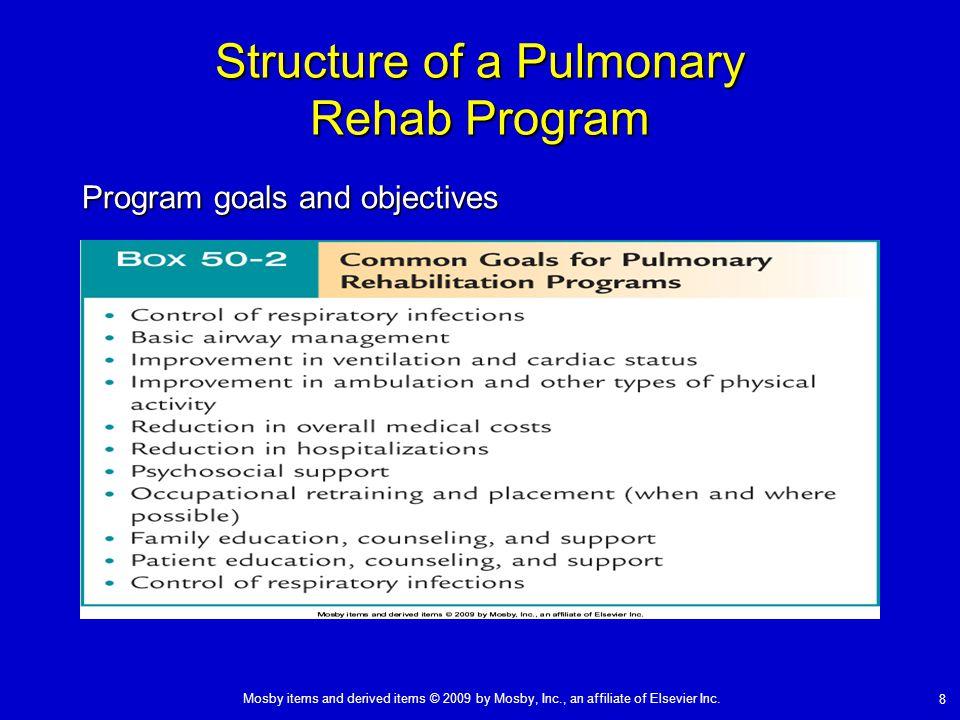 Structure of a Pulmonary Rehab Program