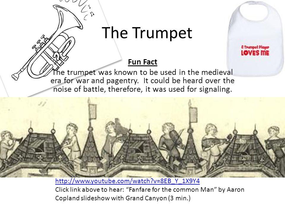 The Trumpet Fun Fact.