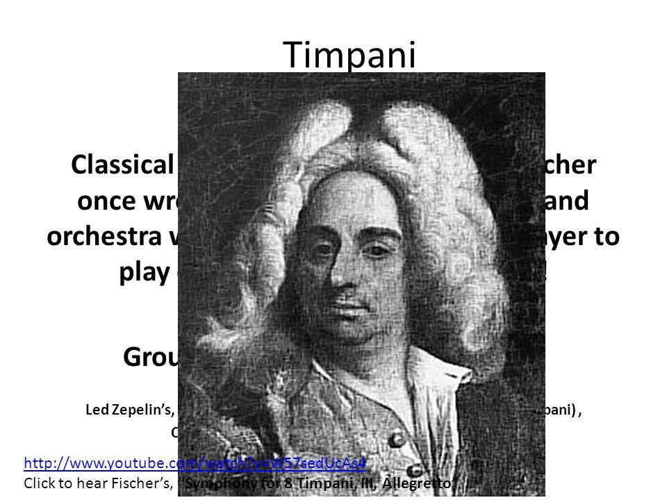 Timpani FUN FACTS!!
