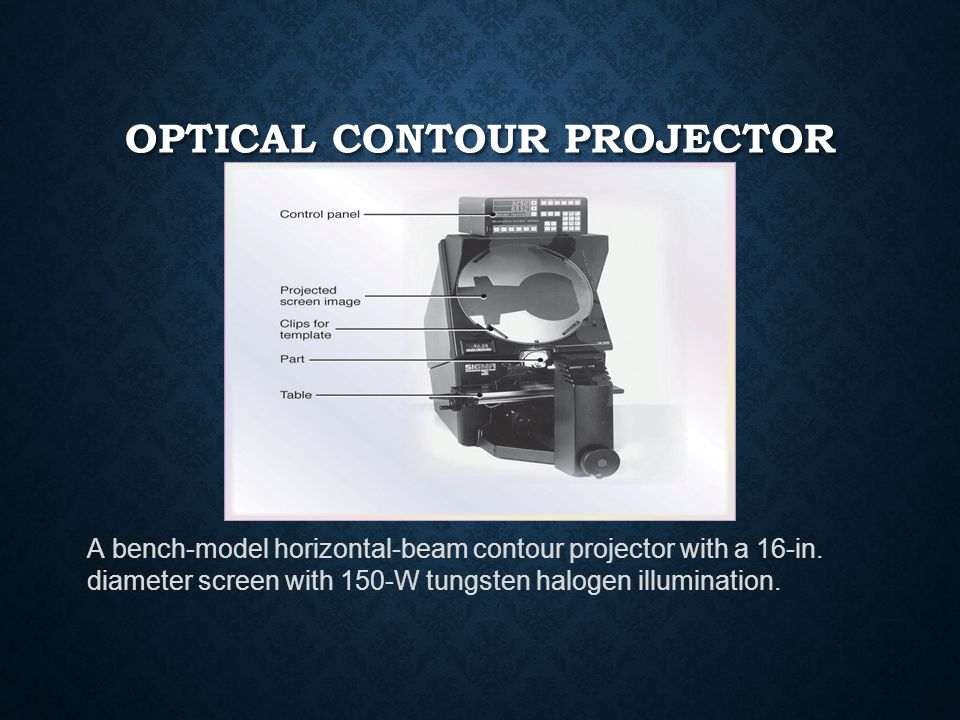 Optical Contour Projector
