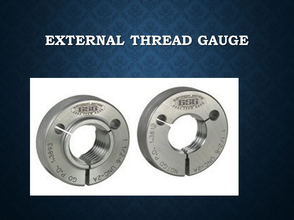 External thread gauge