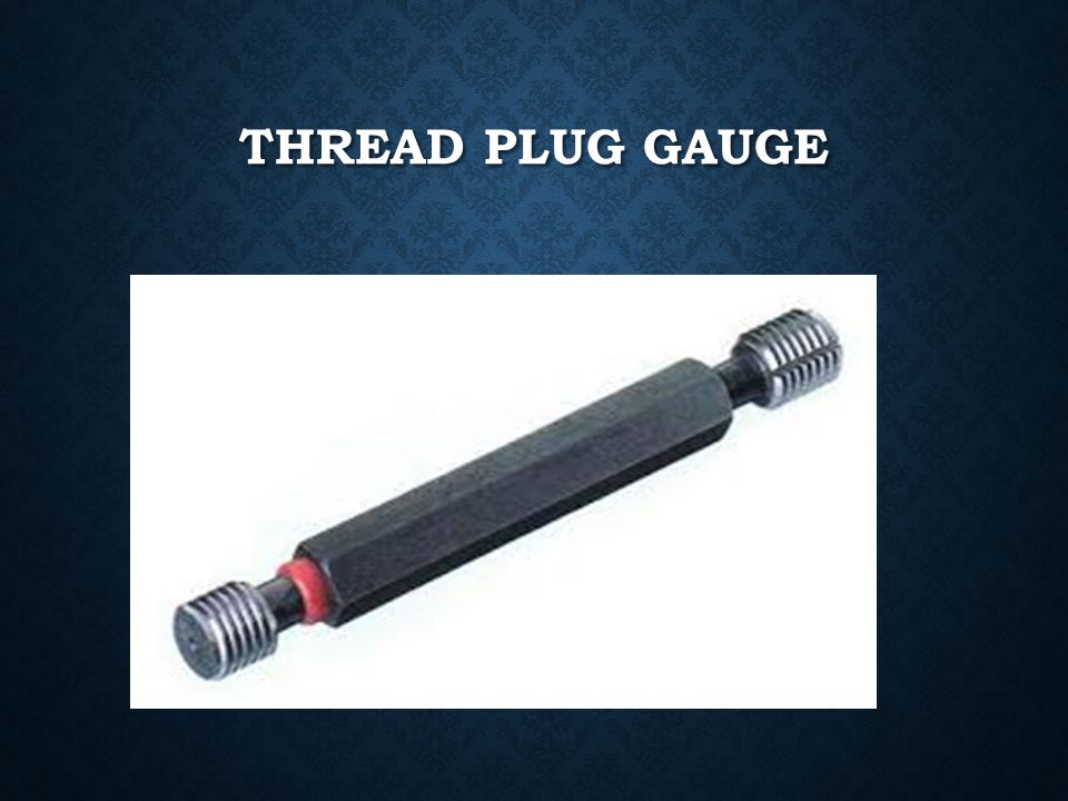 Thread plug gauge