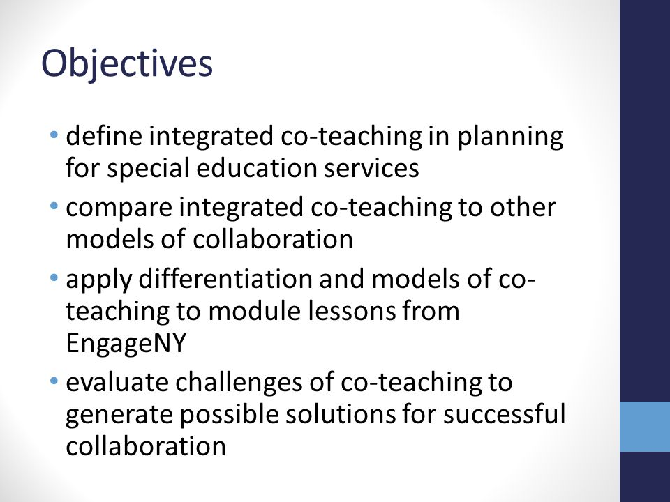 Collaborative Teaching Definition ~ Presented by brooke chartier general education teacher