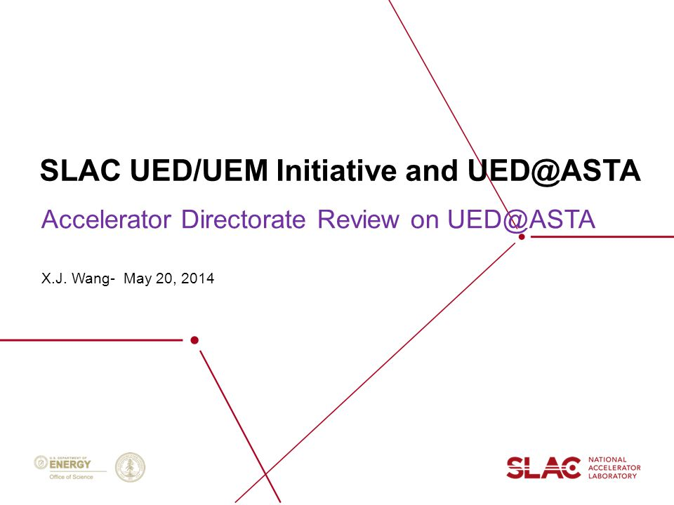 SLAC UED/UEM Initiative and UED@ASTA