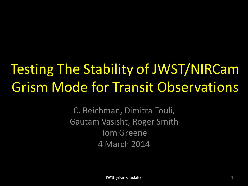 Testing The Stability of JWST/NIRCam Grism Mode for Transit Observations