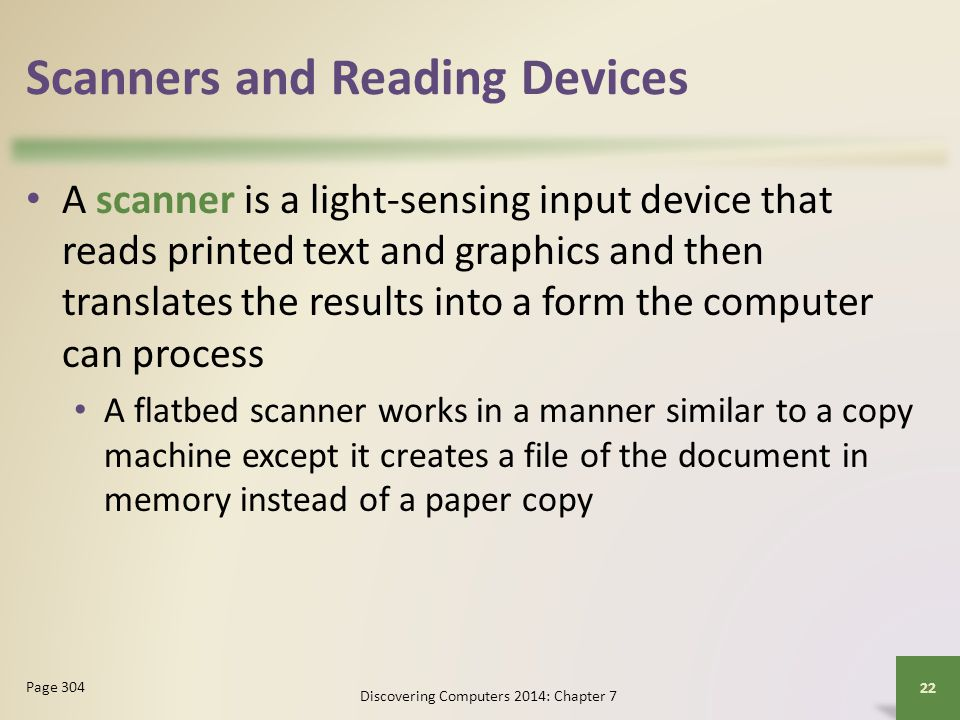 Scanners and Reading Devices