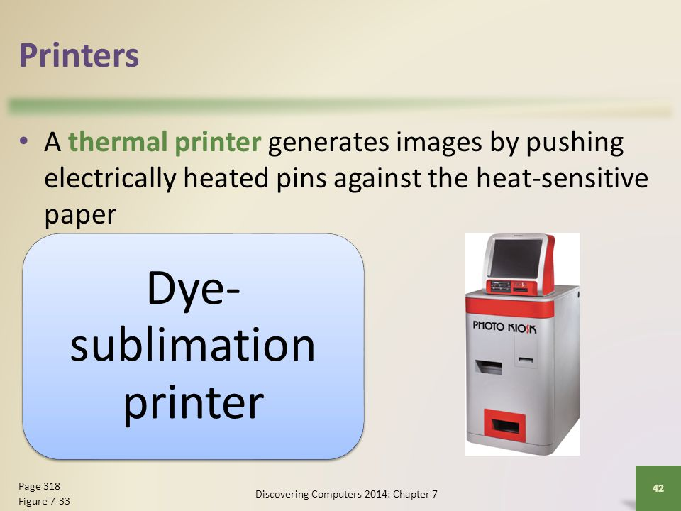 Dye-sublimation printer