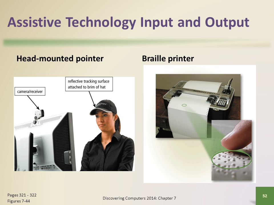 Assistive Technology Input and Output