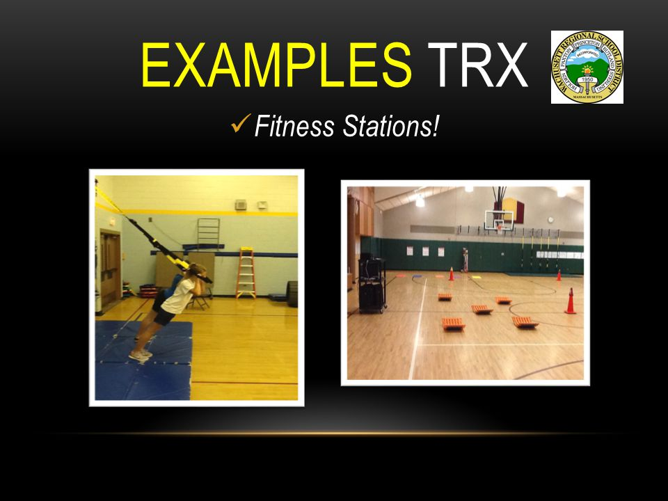 EXAMPLES TRX Fitness Stations!