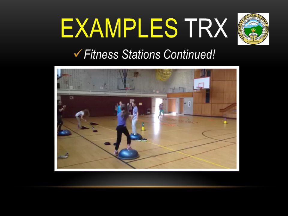 Fitness Stations Continued!