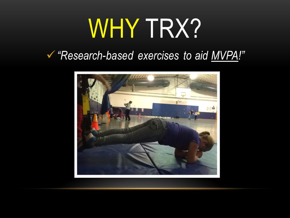 Research-based exercises to aid MVPA!