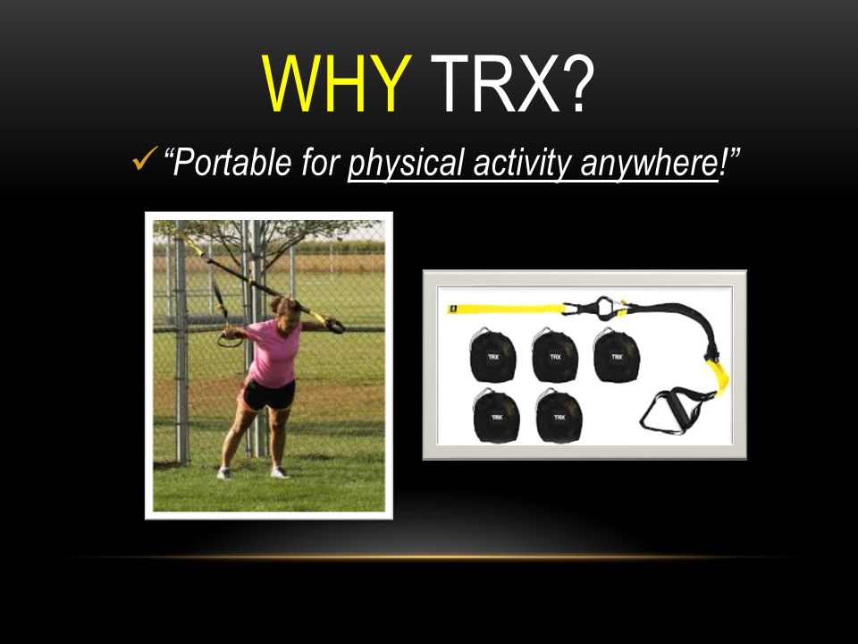 Portable for physical activity anywhere!