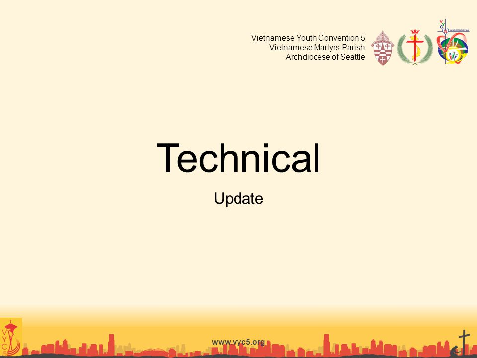 Technical Update www.vyc5.org