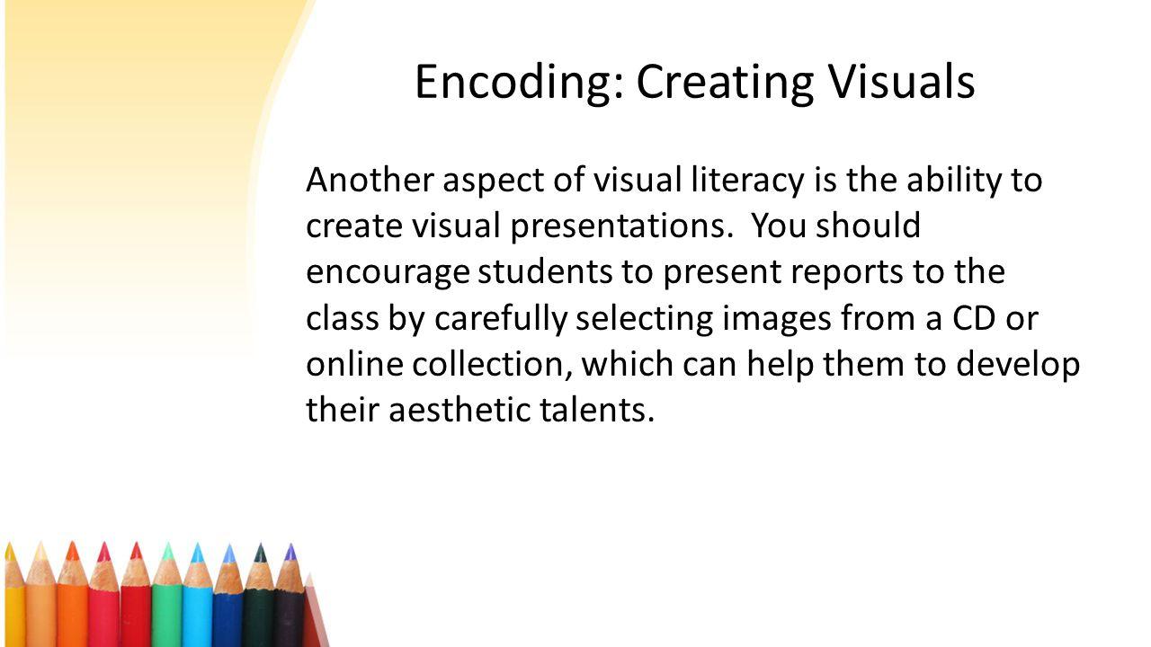 Encoding: Creating Visuals