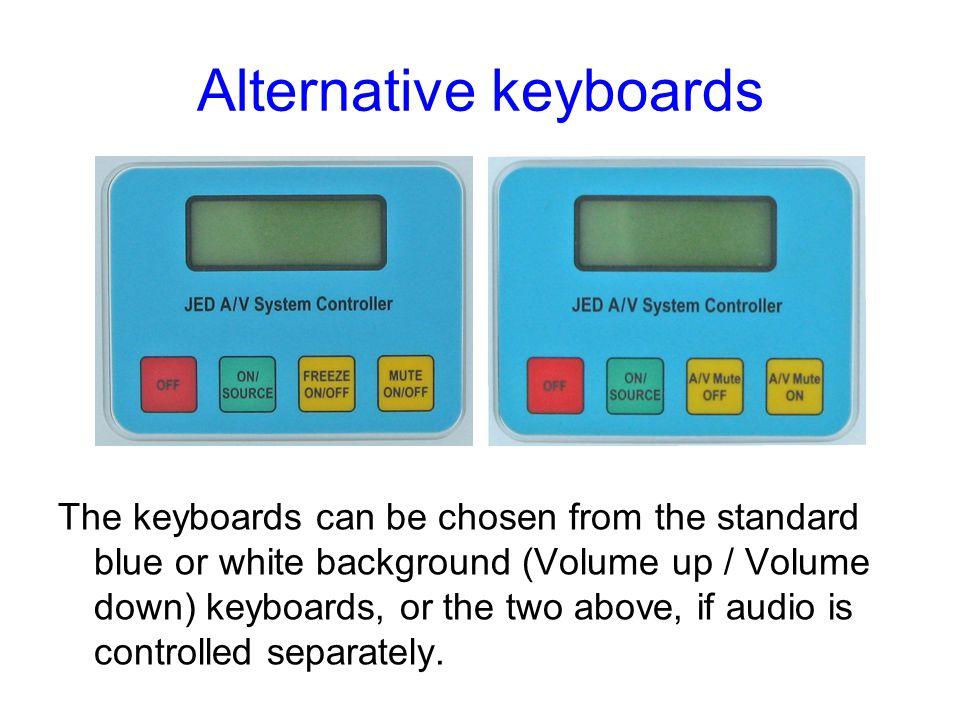 Alternative keyboards