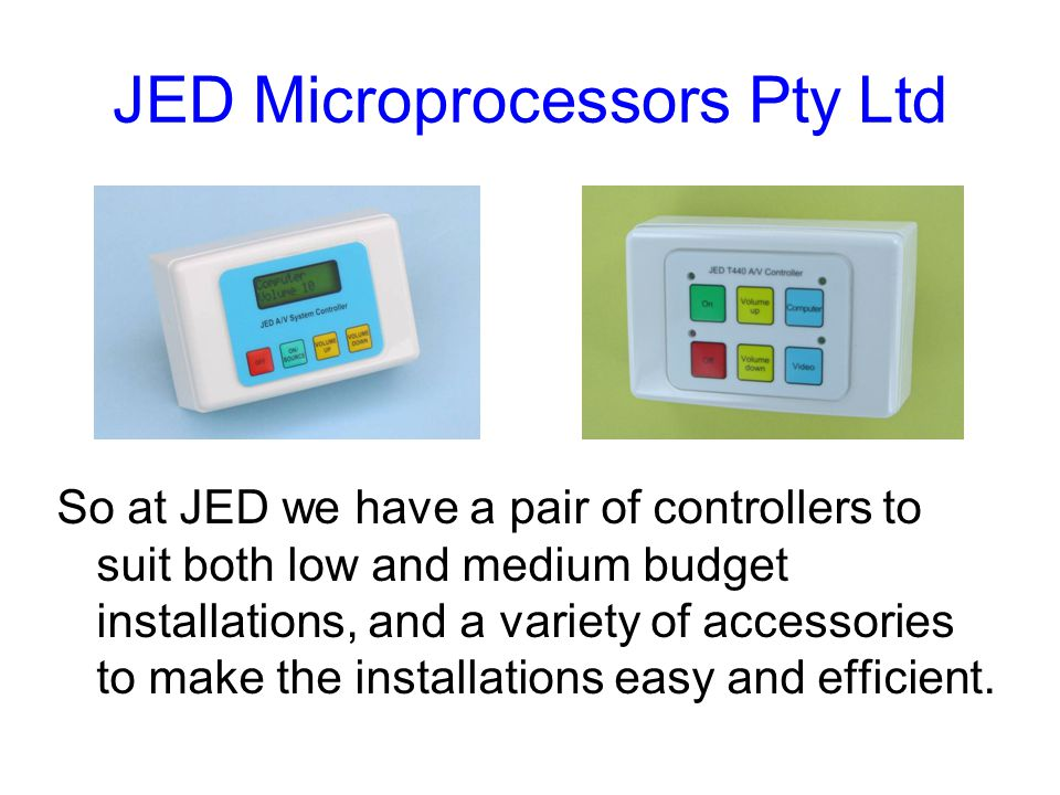 JED Microprocessors Pty Ltd