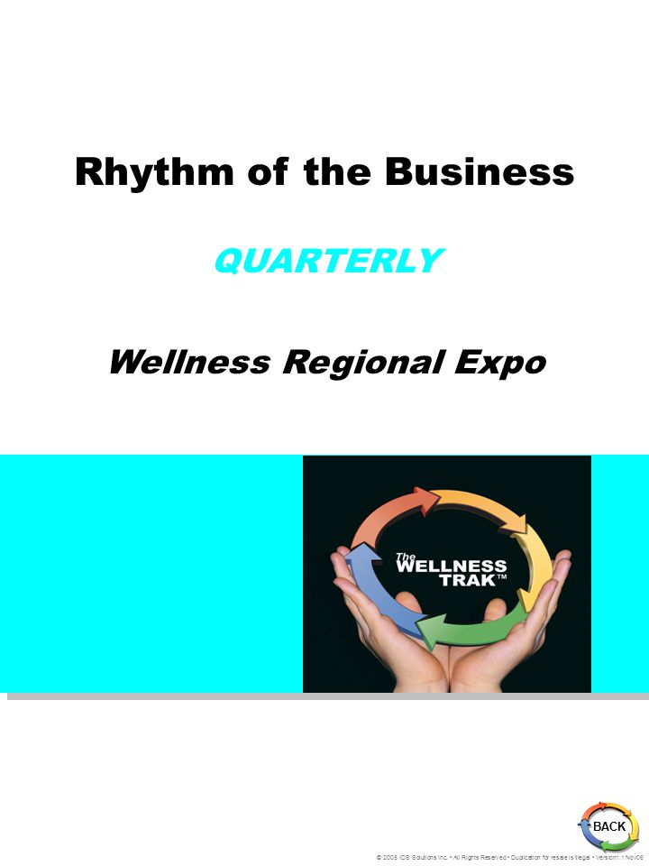 Rhythm of the Business QUARTERLY