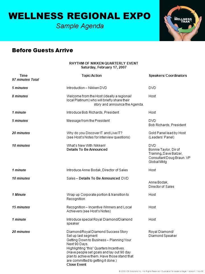 RHYTHM OF NIKKEN QUARTERLY EVENT
