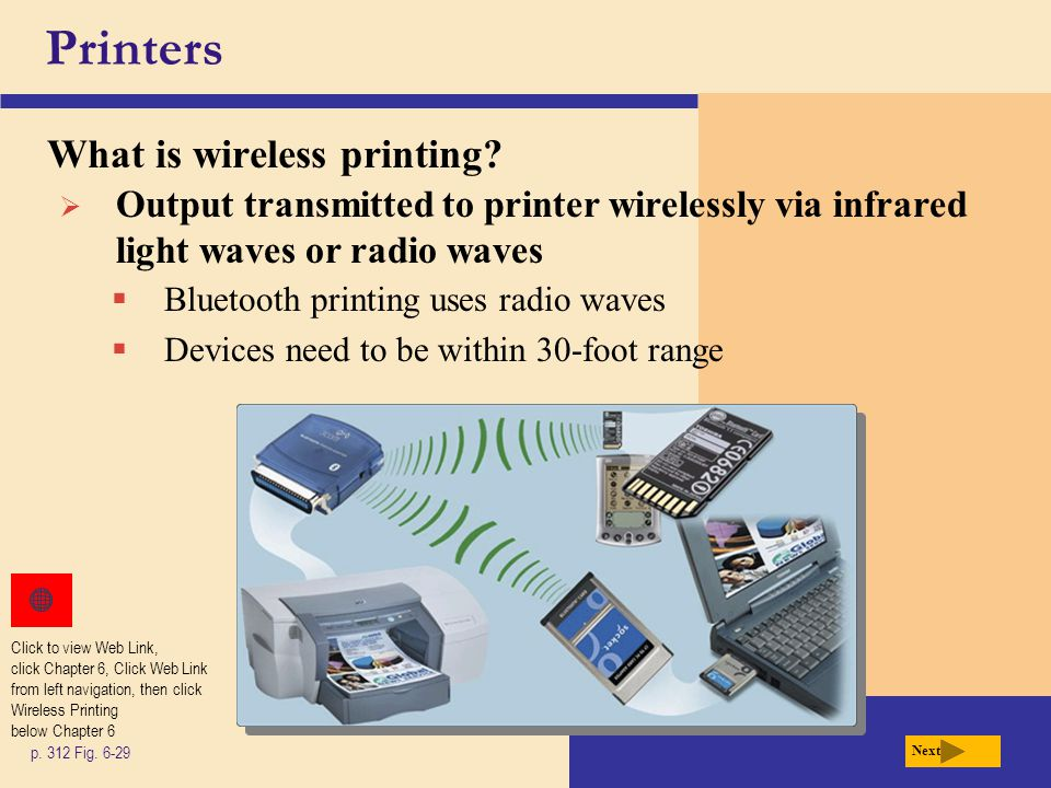 Printers What is wireless printing