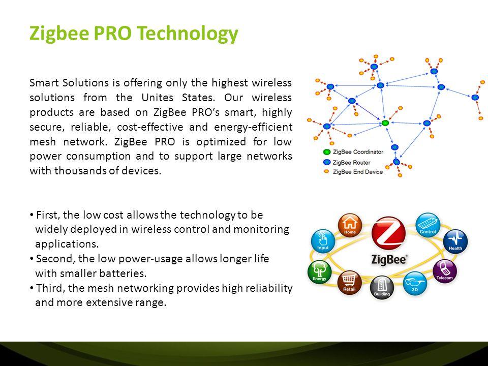 Zigbee PRO Technology