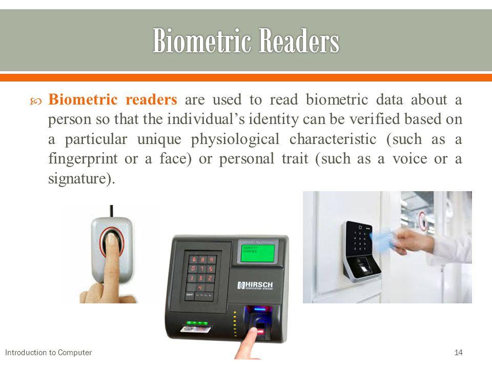 Biometric Readers
