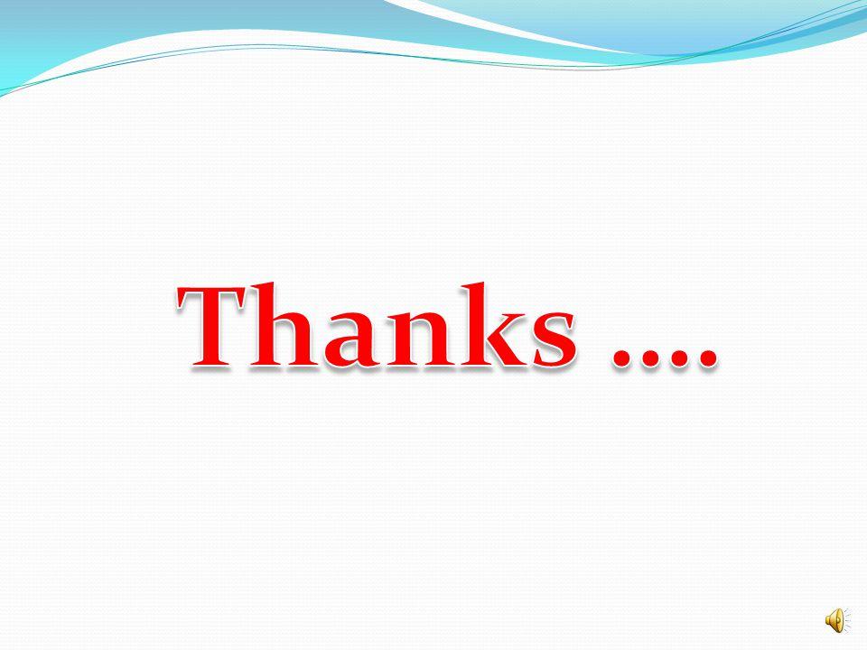 Thanks ….