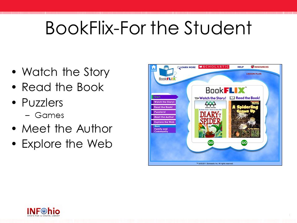 BookFlix-For the Student