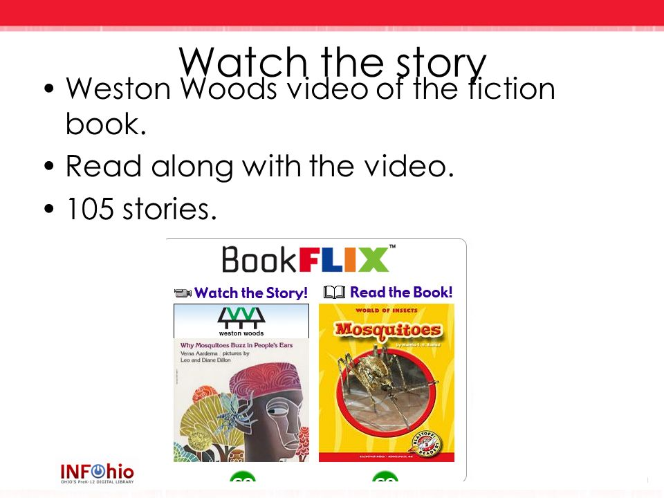 Watch the story Weston Woods video of the fiction book.