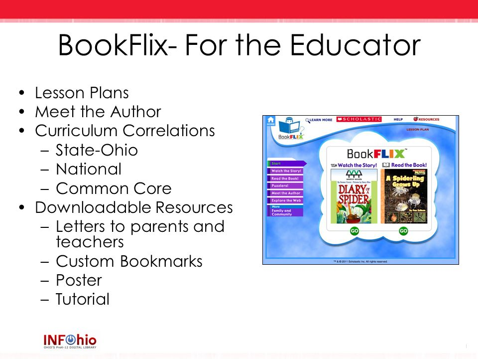 BookFlix- For the Educator