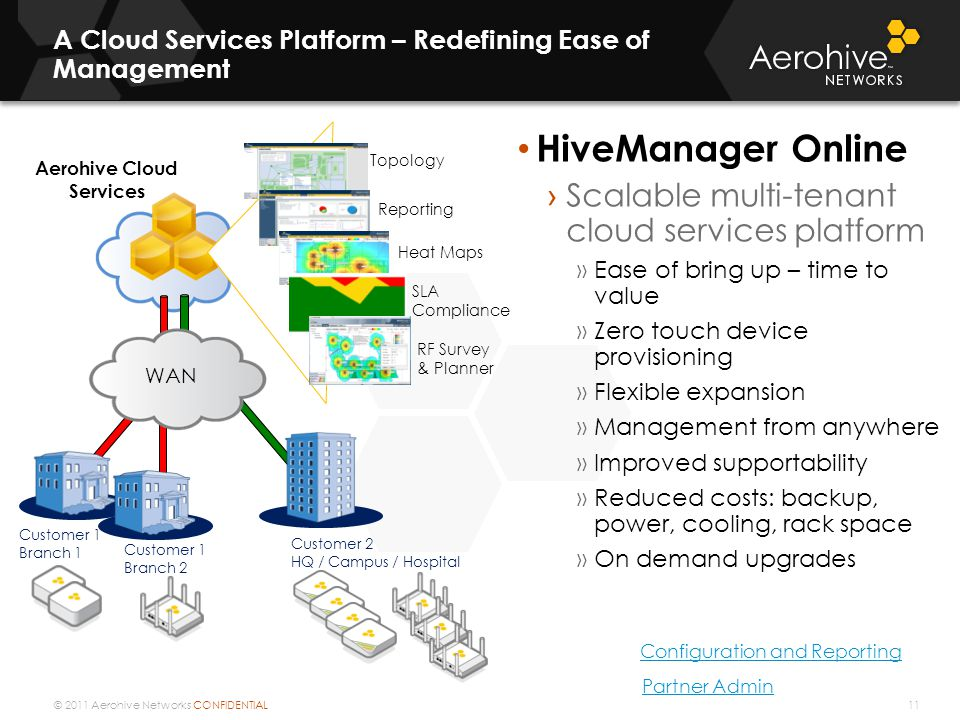 A Cloud Services Platform – Redefining Ease of Management