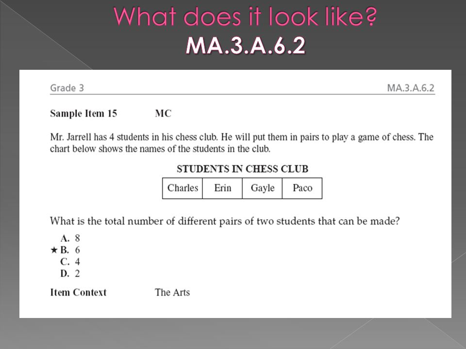 What does it look like MA.3.A.6.2