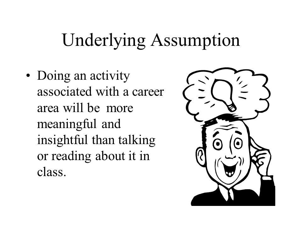 Underlying Assumption