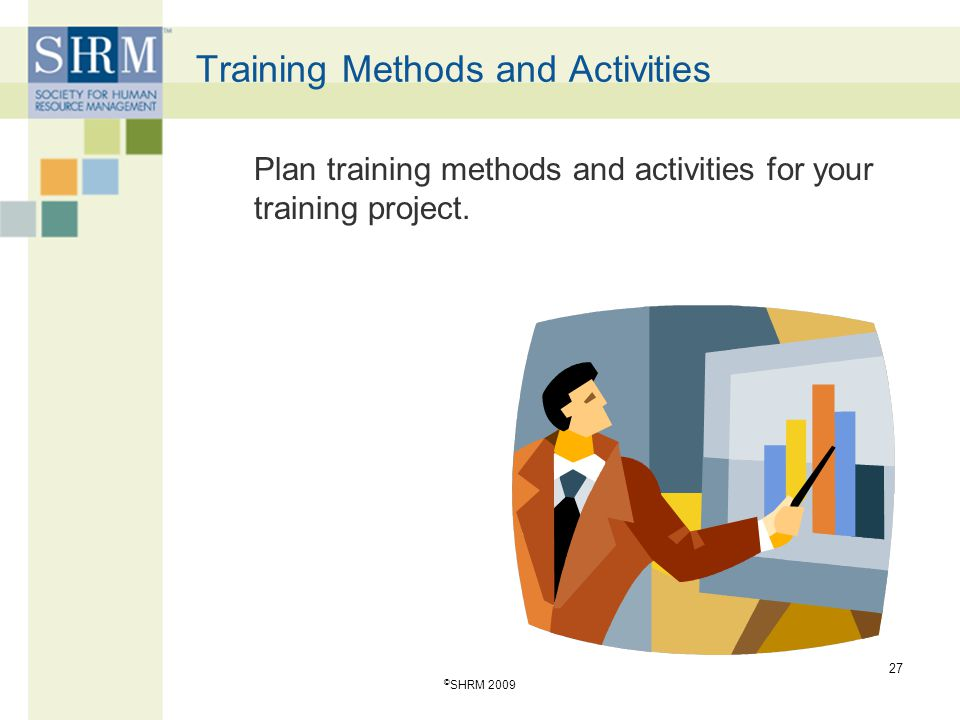 Training Methods and Activities