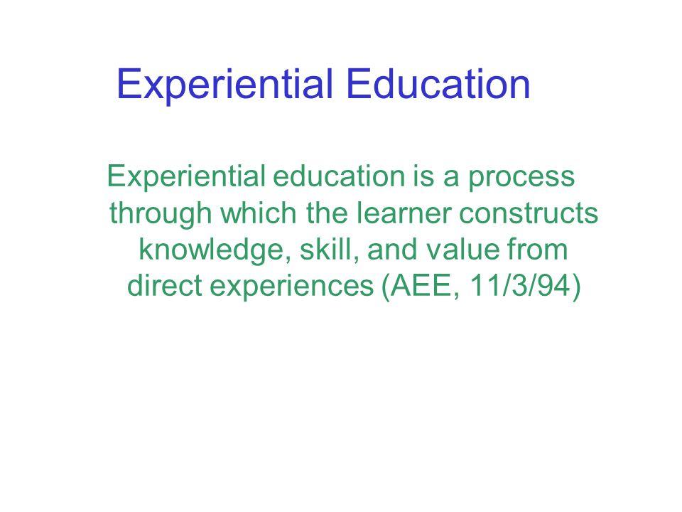 Experiential Education