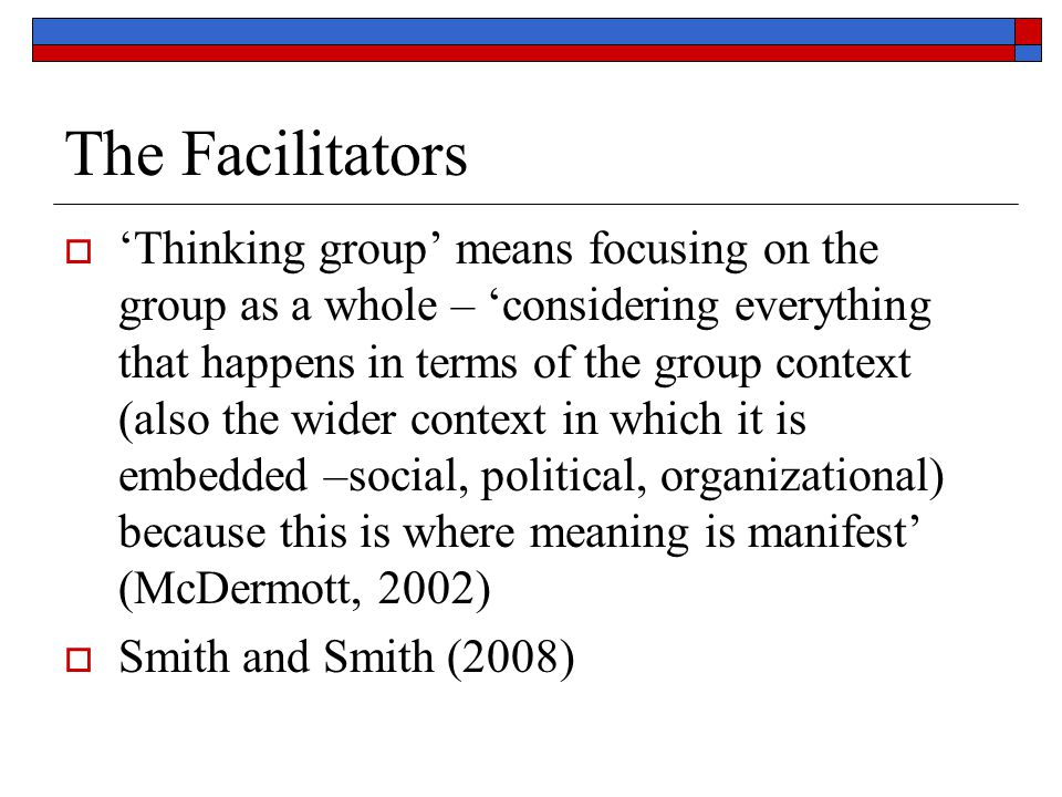 The Facilitators