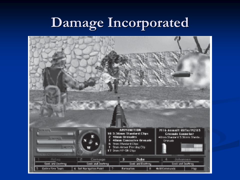 Damage Incorporated