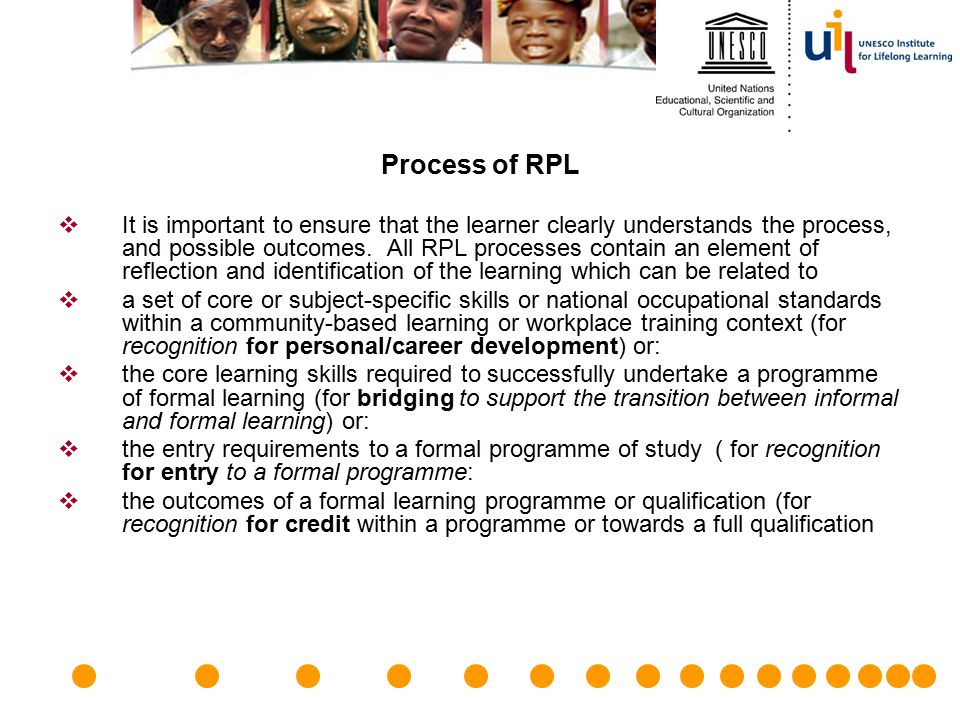 Process of RPL