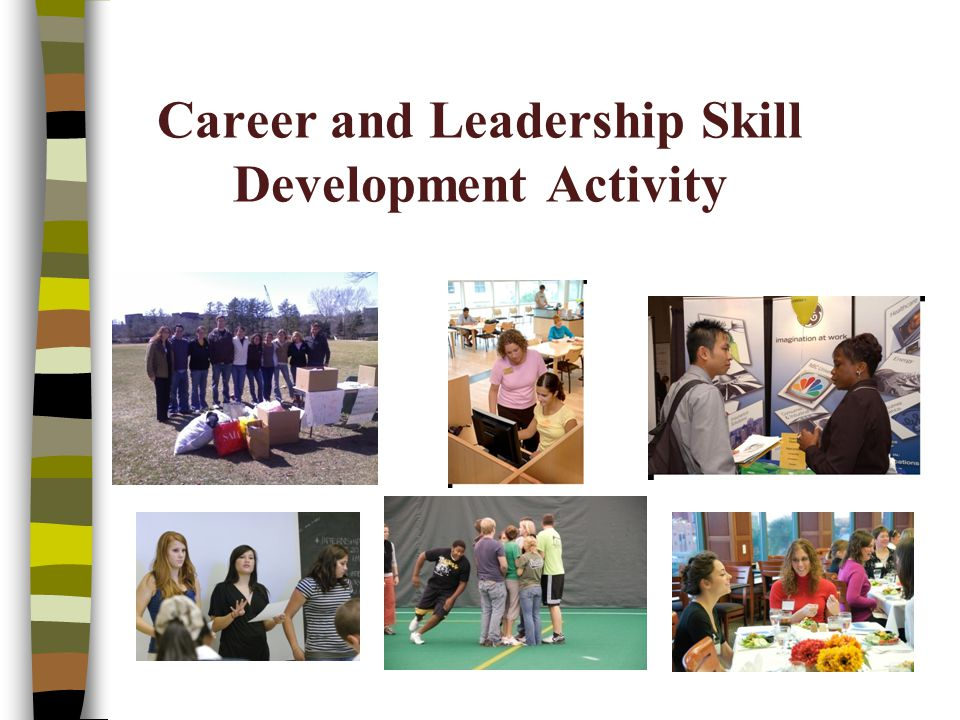 Career and Leadership Skill Development Activity