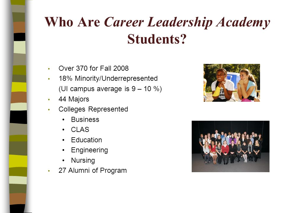 Who Are Career Leadership Academy Students