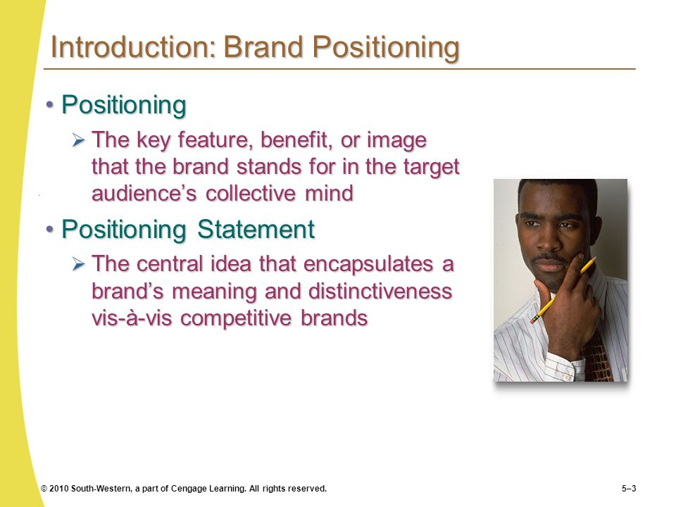 Introduction: Brand Positioning