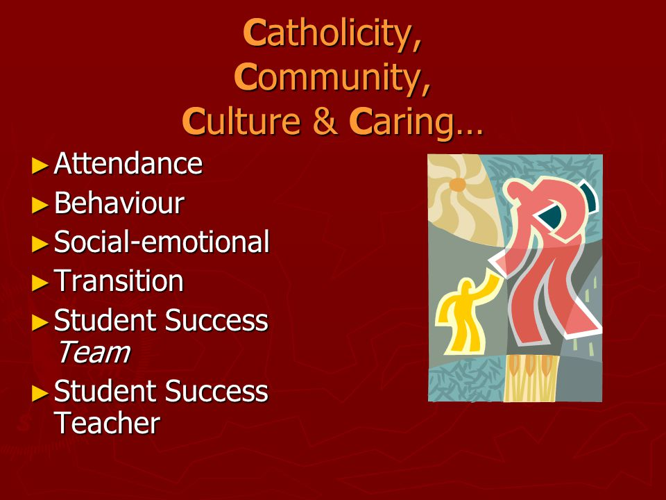 Catholicity, Community, Culture & Caring…