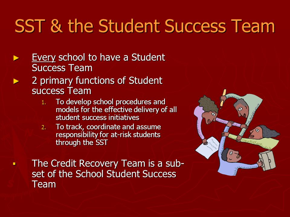 SST & the Student Success Team