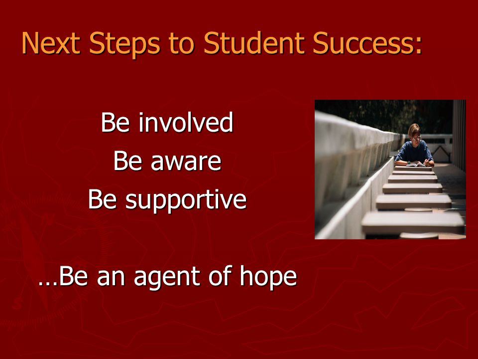 Next Steps to Student Success: