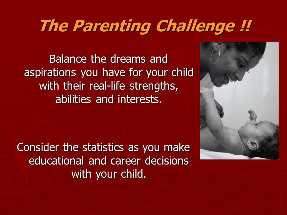 The Parenting Challenge !!