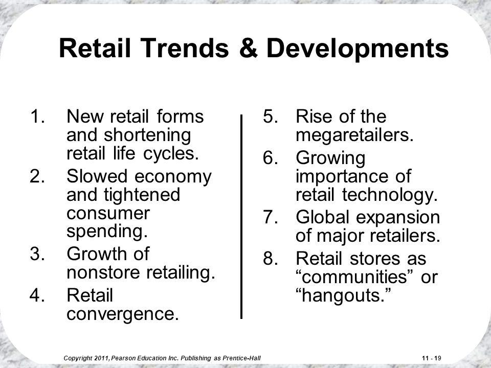 Retail Trends & Developments