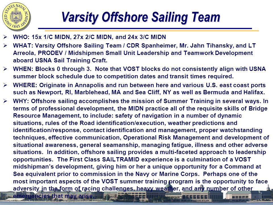 Varsity Offshore Sailing Team