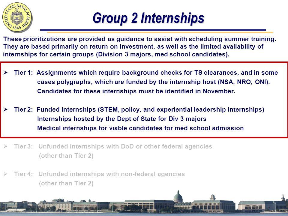 Group 2 Internships